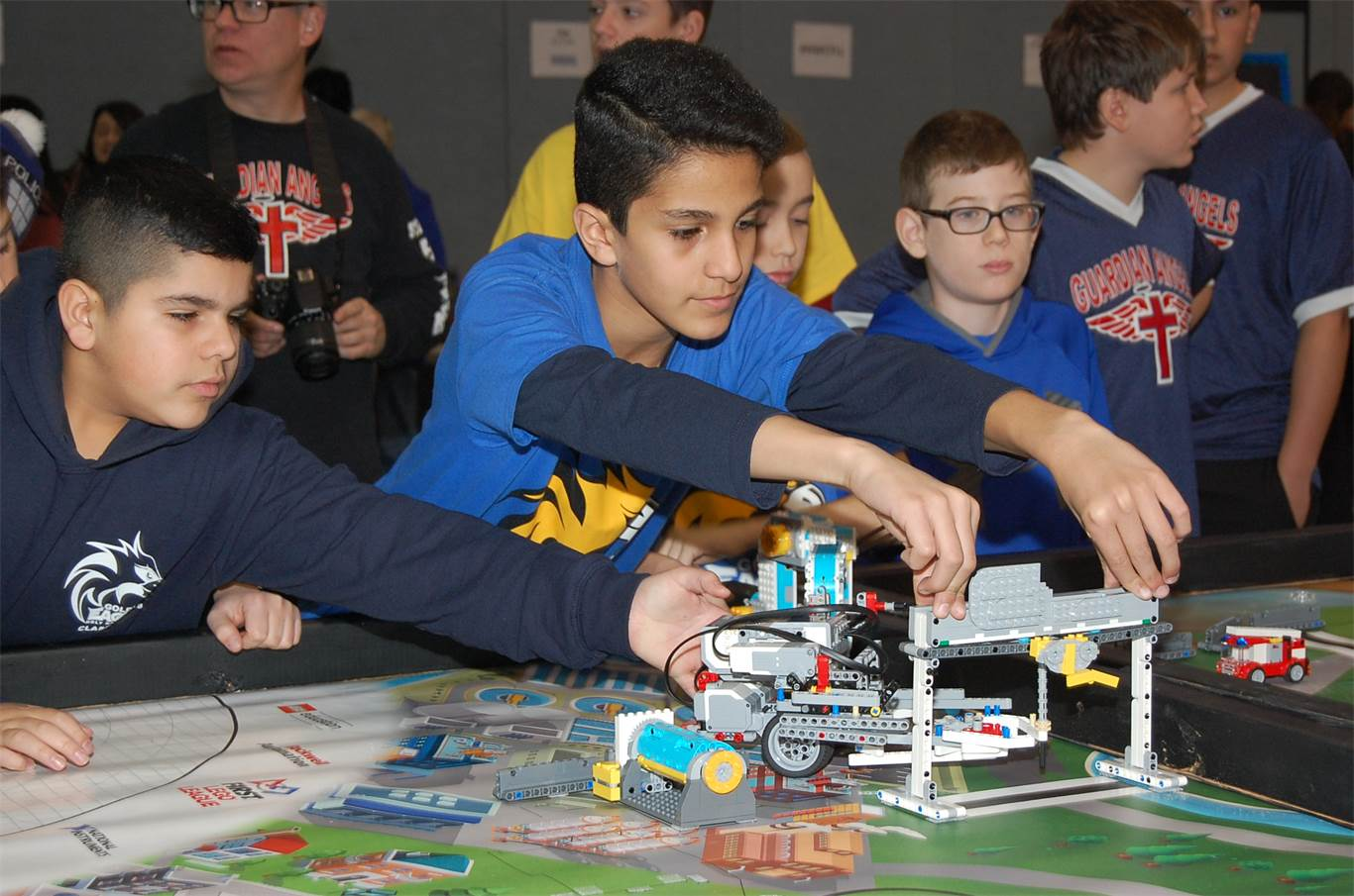 Students test robotics skills at 3rd annual FIRST LEGO League Hamilton Qualifier