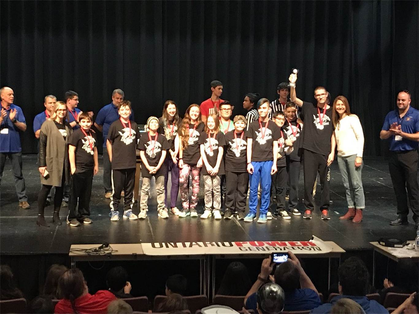 St. Matthew Robostangz Team 28112 was one of three top teams from the FIRST LEGO League Niagara Regional Qualifier on Dec. 2. The Team will advance to the FIRST LEGO League Provincial Tournament at the University of Waterloo in January.